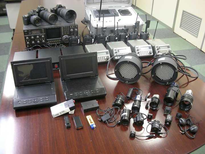 原一探偵社の無線設備